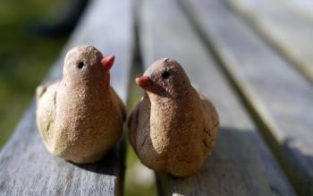 keramika figurky ptáčci