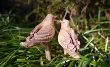 keramičtí ptáčci