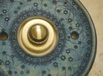 keramika_domovní_zvonek_kobalt