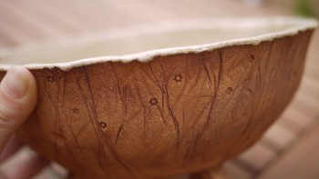 Keramická bonsai miska malá 4