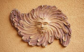 keramická plastika slunce lucie polanská