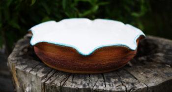 keramické pítko tyrkys bílá lucie polanská nikilu 3
