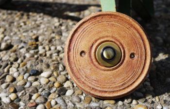 zvonkové tlačítko keramika mosaz Toscana lucie polanská nikilu mrazuvzdorné