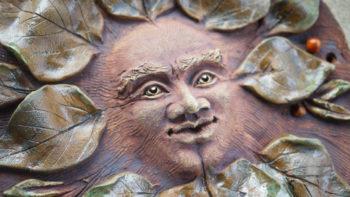 domovní znamení pan lesa lipa lucie polanska keramika3