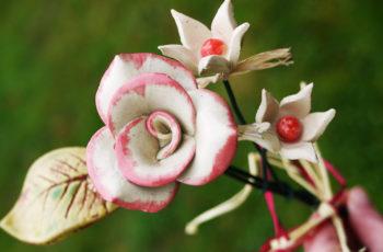 keramické růže puget přírodní glazovaný lucie polanská nikilu 00