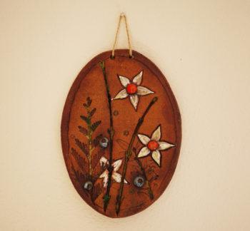 keramický obrázek pověsit na zeď jaro 1 lucie polanska 1