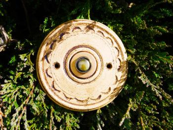 zvonkové tlačítko keramika mosaz mrazuvzdor Arcus burel lucie polanská 1