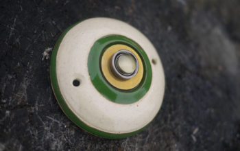 zvonkové tlačítko Klasik zelený