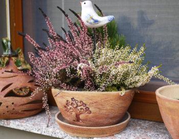 keramicky kvetinac strom lucie polanska